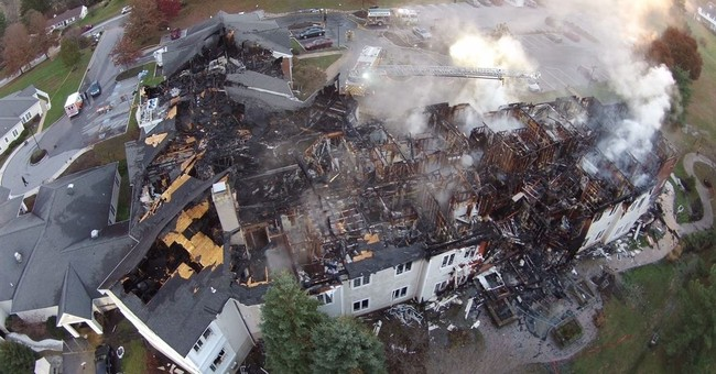 4 missing in senior home inferno, officials not hopeful